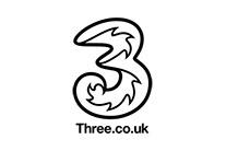 3 Mobile (Three) Logo - Retail Clients